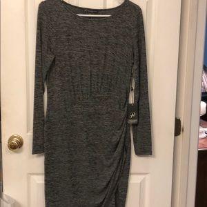Adrianna Papell faiux wrap dress